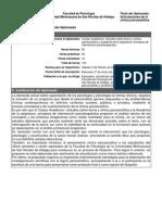 DIPLOMADO CLINICA PSICOANALITICA información