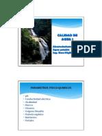 Tema 2. Calidad de Agua 1