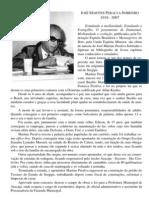 Biografia - José Martins Peralva Sobrinho
