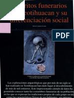Ritos Funerarios en Teotihuacan - Arqueologia Mexicana