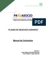 Programa Proasocio Contenidos Plan de Negocio 2011