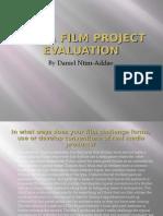 Media Film Project Evaluation
