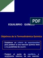 Equilibrio Quimico Molecular