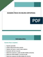 Examen Fisico en Neuroortopedia
