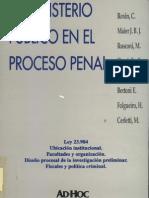 Maier Roxin y Otros - Ministerio Publico en El Proceso Penal