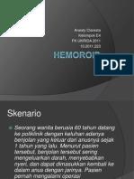 Hemoroid Interna
