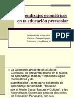 Aprendizajes geométricos en la educación preescolar