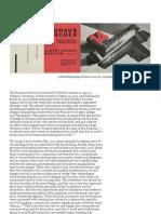 Making Modernities Bauhaus Essay