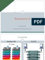 Roteamento IP- Treinamento