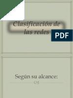 Clasificacion de Las Redes
