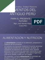 Alimentos Antiguo Peru