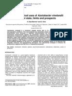 Uses of Azotobacter Vinelandii in Biotecnology