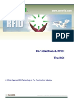 013 Construction & RFID - the ROI