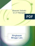 Ekonomi Industri Scp Monopoli Bs20111 2
