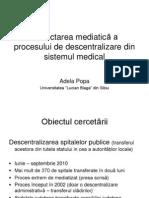 Descentralizarea Spitalelor in Presa - Adela Popa