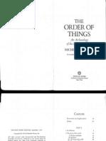 3-Feb 11 - Foucault - Order of Things - 250-53 263-80