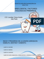 3ra Semana Caries Dental (2da Parte)