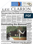 Lee Clarion Volume 63, Issue 12 | April 17, 2009
