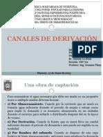 CANALES DE DERIVACIÓN expo