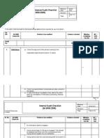 SA Audit Check List_new
