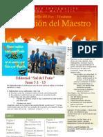 Boletin Informativo Marzo - Mayo 2013