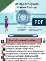 Yanfa Slide Klasifikasi Kegiatan Praktek Farmasi