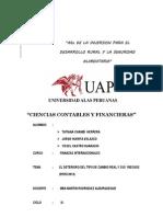 Finanzas Internacionales 6ta Pregunta