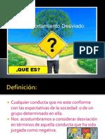 Diapositivas de Desviacion