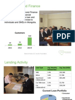 Diamond Finance Investor Presentation DRAFT - NOT FINAL