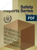 Calibration of Radiation Protection Monitoring Instruments