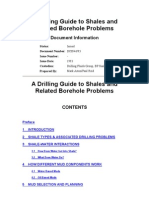 A Drilling Guide to Shales and Related Borehole Problems