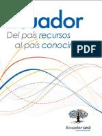 Ecuador Del país recursos al país conocimiento Grupo Faro