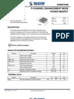 Datasheet SSM6679GM Mosfet Entrada
