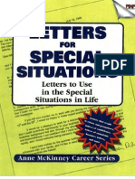Letters for Special Situations