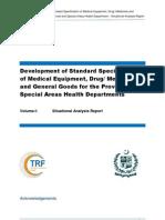 Situational Analysis Report Vol-I