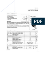 Irfbe20pbf Power Mosfet