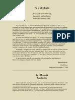 Segundo, Juan Luis - Fe e Ideología-1984