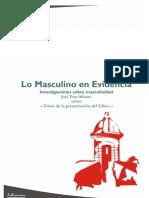 Fotos de la Presentación del libro Lo Masculino en Evidencia