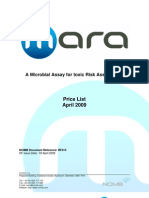 Rf315  MARA Price List.pdf