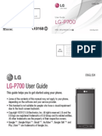 LG P700 L7 User Guide