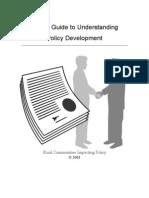 Understanding Policy