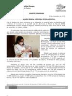 04/11/12 Germán Tenorio Vasconcelos inicia Segunda Semana Nacional de Salud Bucal