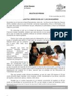 16/11/12 Germán Tenorio Vasconcelos SALUD REPRODUCTIVA, DERECHO DE LAS Y LOS OAXAQUEÑOS