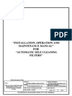I&M Manual Self Cleaning Filter