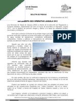 06/12/12 Germán Tenorio Vasconcelos Implementa Sso Operativo Juquila 2012