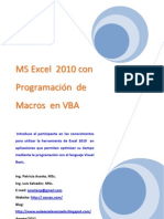 Tutorial Excel VBA 2010