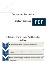 Consumer Behavior Presentation on Lifebuoy Shampoo Pakistan