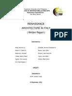 Renaissance in Italy.docx
