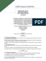 38. Regolamento Interno Consiglio Valle d'Aosta 14.07.2010 - Titolo 4 - Capo 4-5
