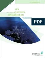 Reduzieren, Kompensieren, Engagieren - Report über wirkungsvollen zivilgesellschaftlichen Klimaschutz